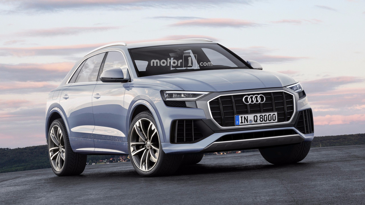 2019 Audi Q8 render