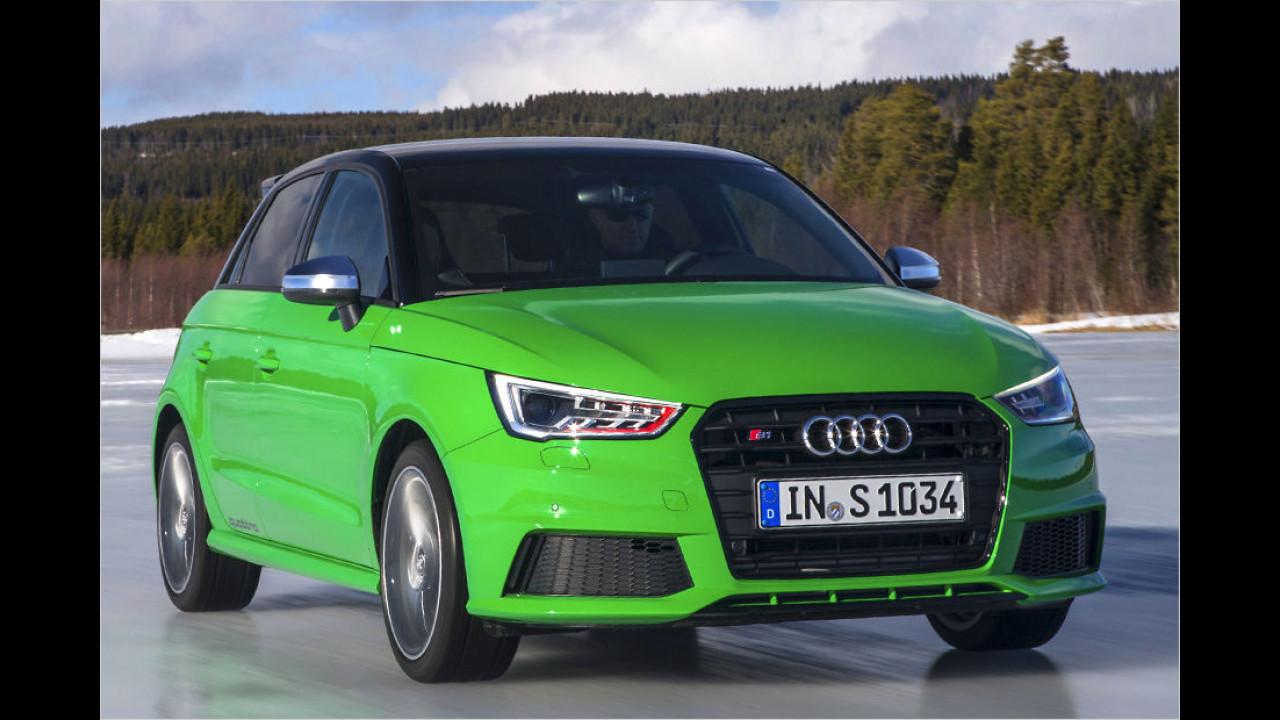 Für Schnellfahrer: Audi S1