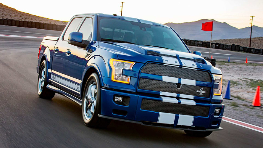 Shelby F-150 Super Snake With 750 HP Can Take A Bite Out Of Tires