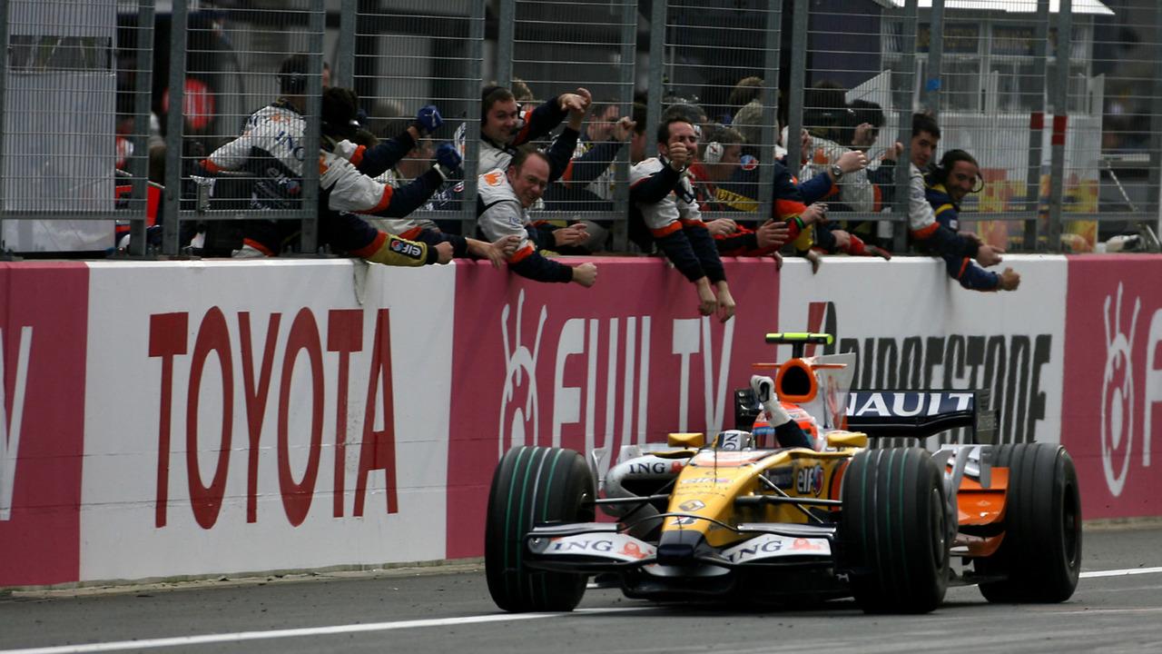 Renault F1 aux Classic Days