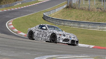 2018 Toyota Supra spied on the 'Ring