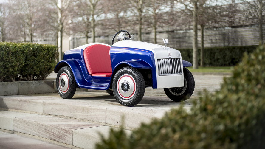 Rolls-Royce builds one-off kid car for a noble cause