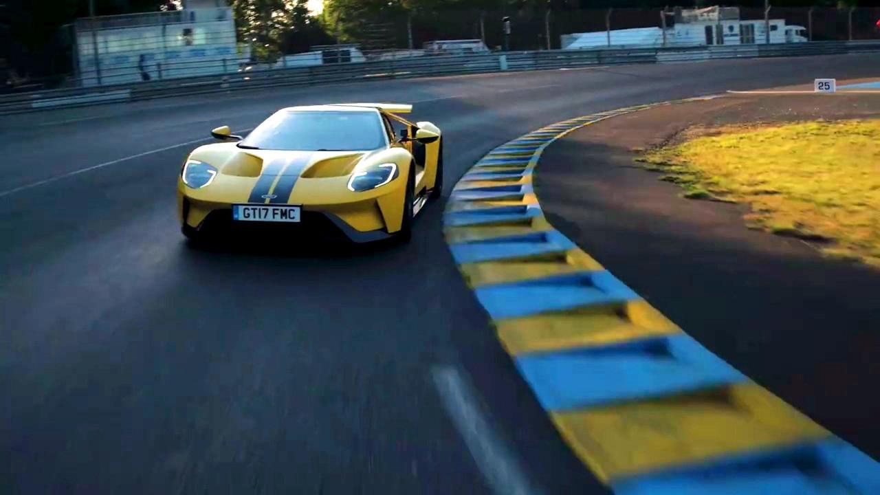 Ken Block Ford GT Le Mans