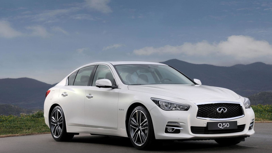 Infiniti Q50 Extended Wheelbase announced for China
