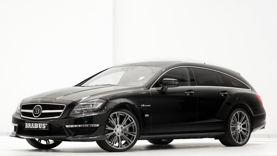 Brabus B63S based on Mercedes-Benz CLS 63 AMG heading to Geneva