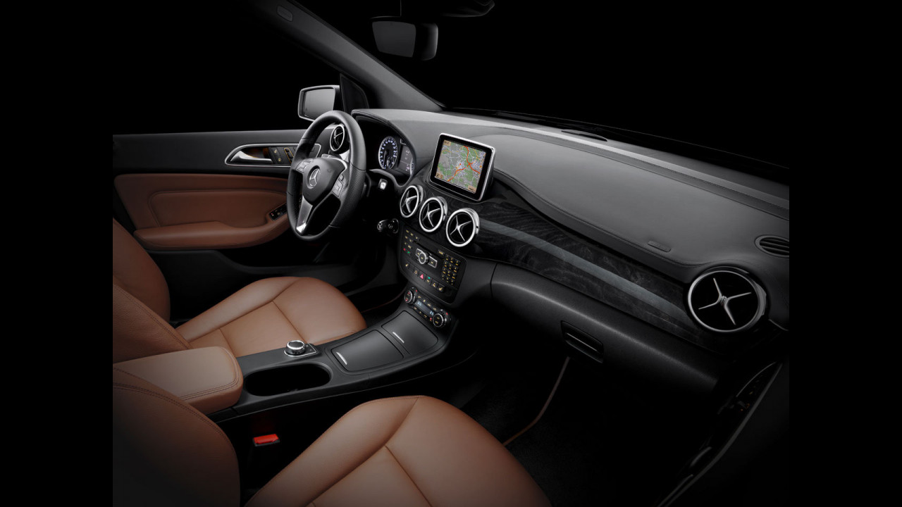 Nuova Mercedes Classe B, gli interni