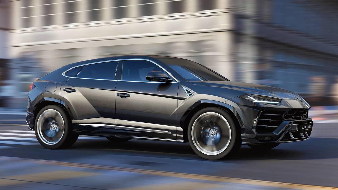 Lamborghini Urus – Rear-Wheel Steering