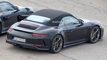 Porsche 911 spy photos