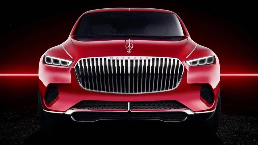 Vision Mercedes-Maybach Ultimate Luxury leaked official images