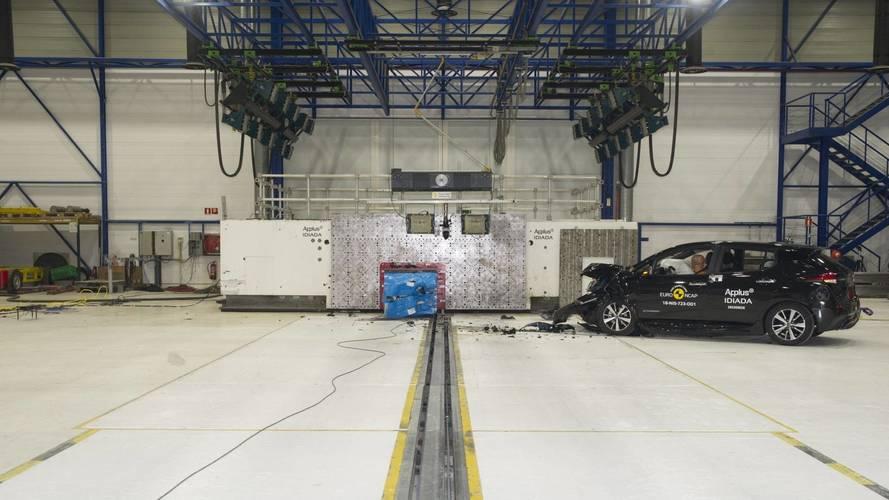 Nissan Leaf Euro NCAP crash test 2018