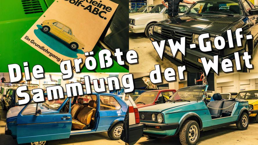 Die größte VW-Golf-Sammlung der Welt