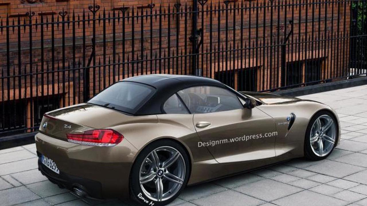 2017/2018 BMW Z4 roadster artist rendering