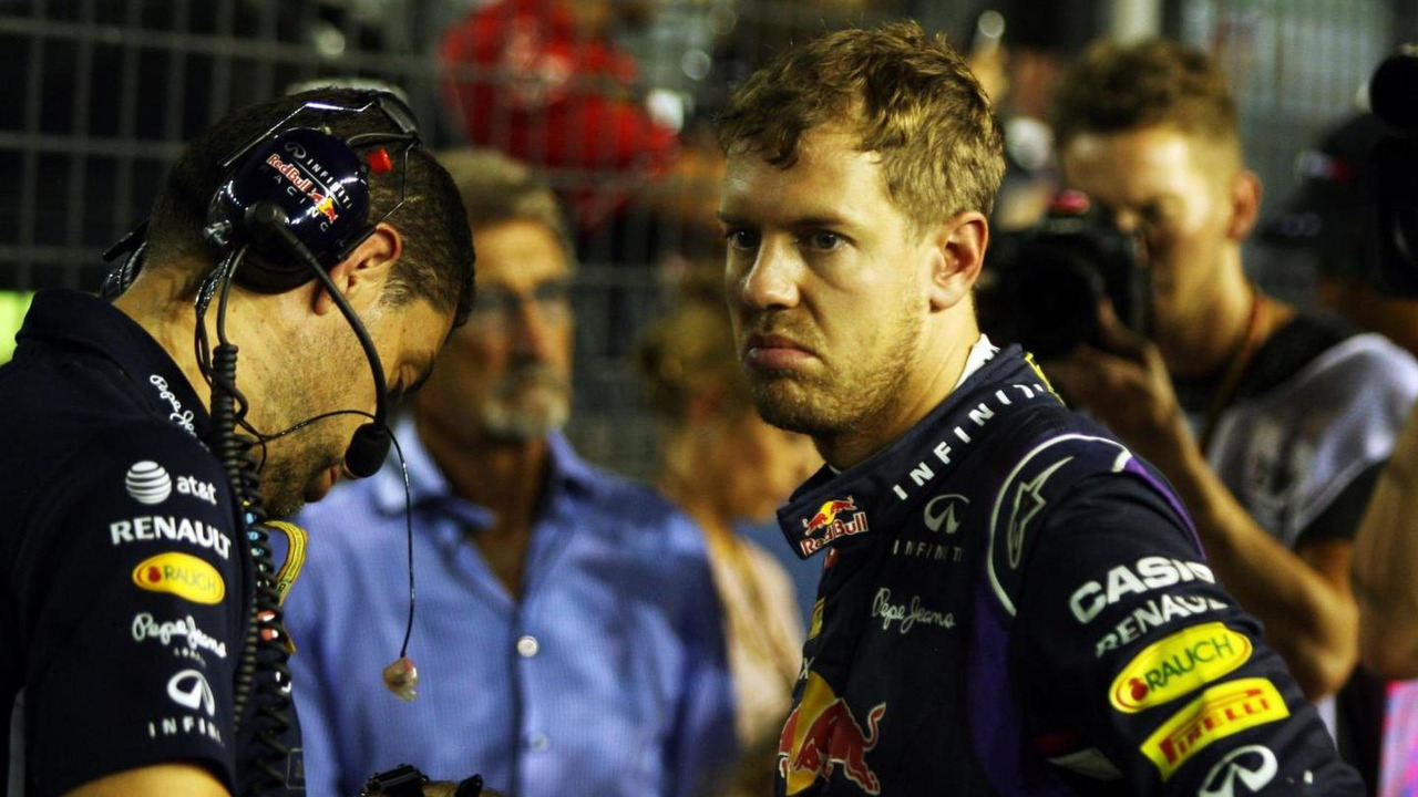 Sebastian Vettel (GER) with Guillaume Rocquelin (ITA) / XPB