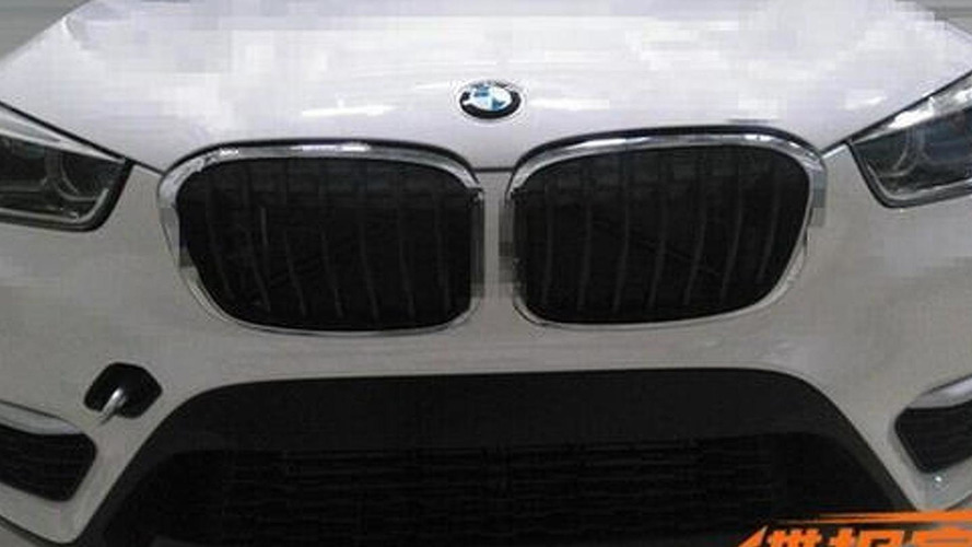 All-new BMW X1 photographed undisguised