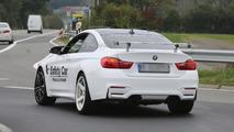 Lightweight BMW M4 Coupe spy photo