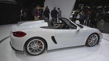 Porsche Boxster Spyder at 2015 New York Auto Show