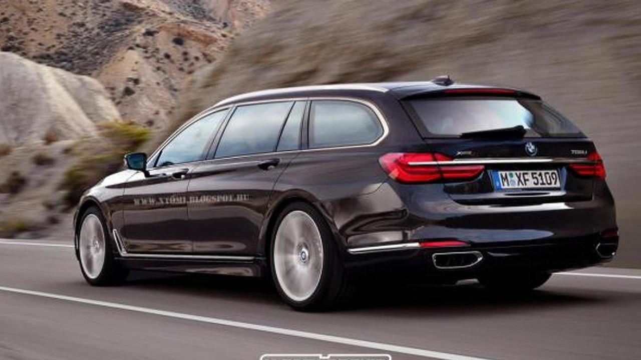 2016 BMW 7-Series Touring render