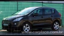 Novo Crossover Peugeot 3008 - Versão final é flagrada sem nenhum disfarce