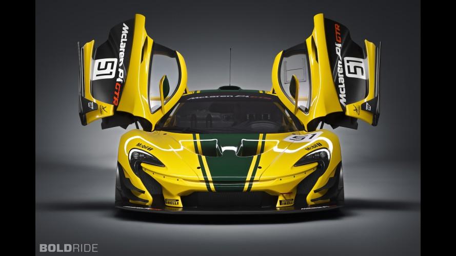 986 hp'lik McLaren P1 GTR böyle spin attı