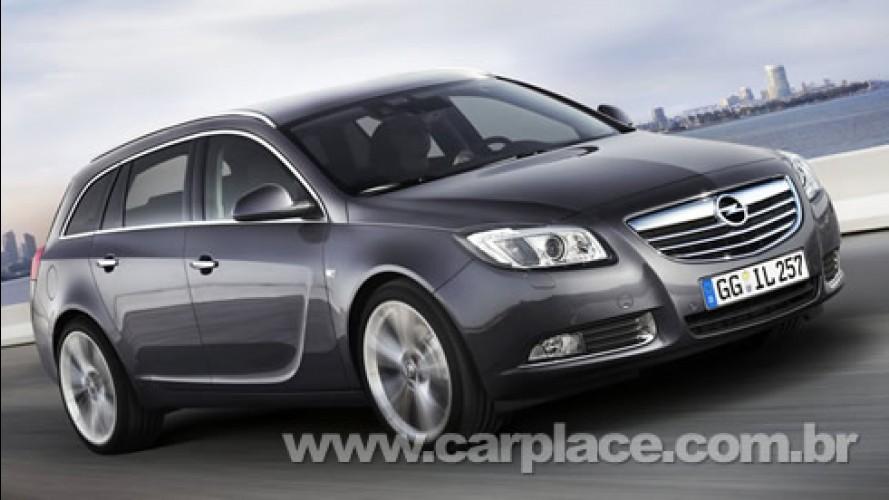 Opel revela Insígnia Sports Tourer - Nova Station Wagon substiuirá Vectra Caravan