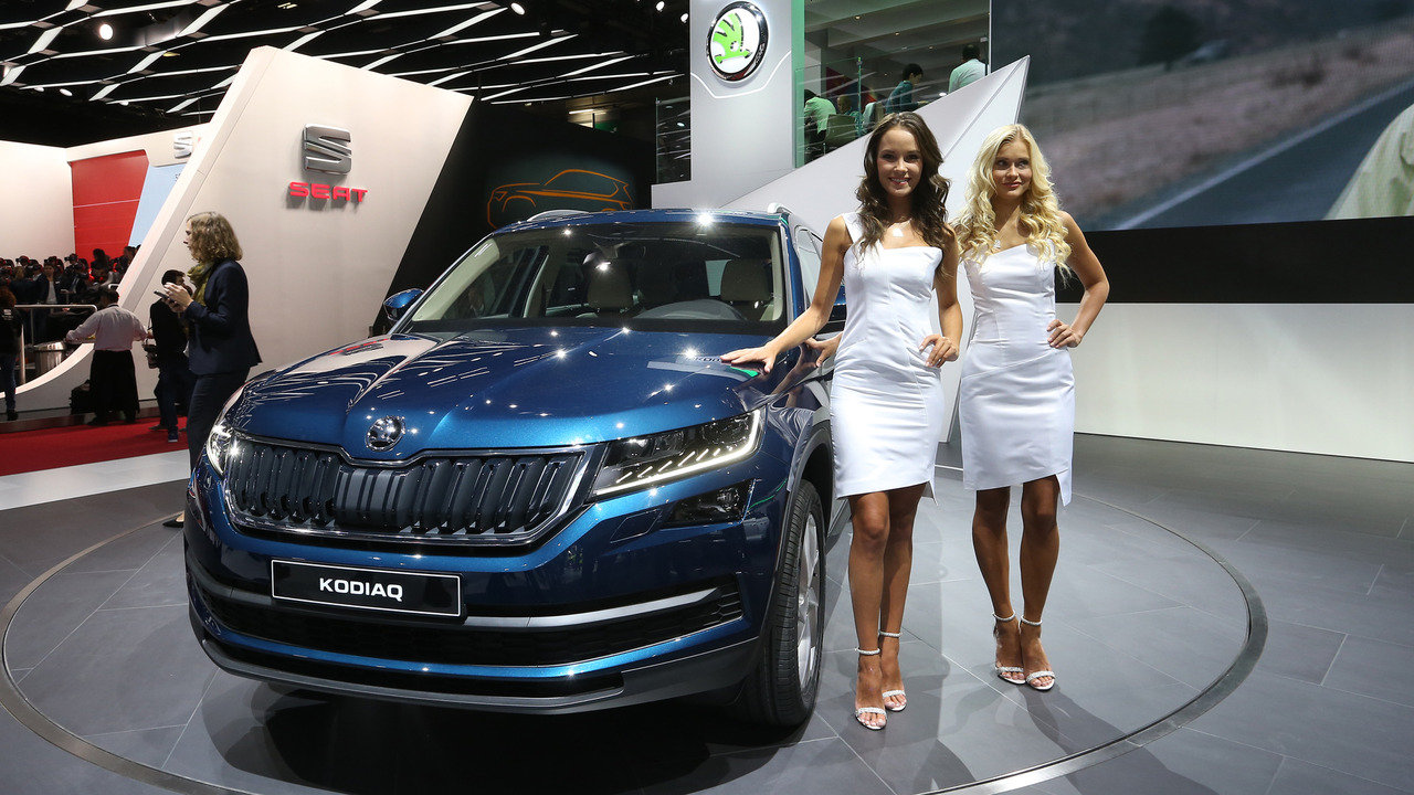 Skoda kodiaq suv debuts in paris for Garage nissan paris