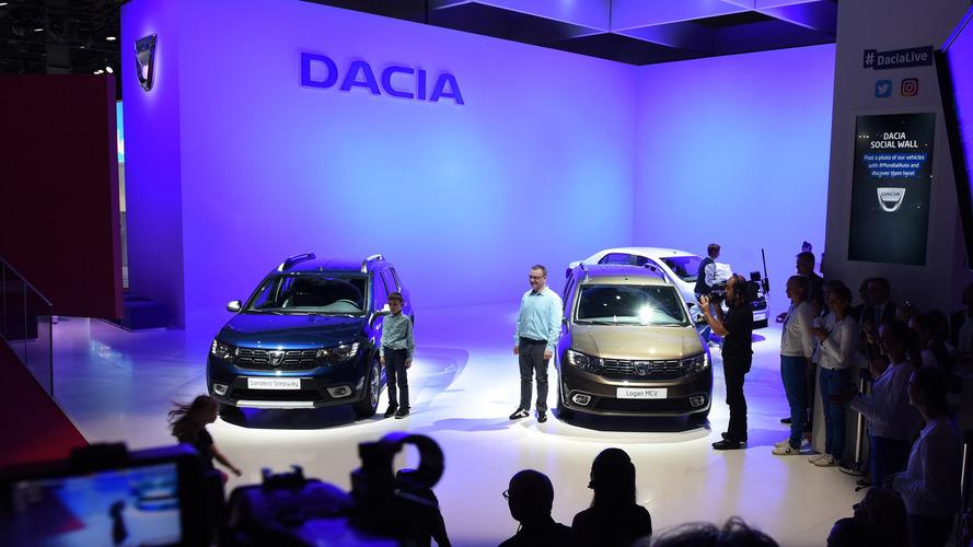 Fresh-faced Dacia Sandero and Logan debut in Paris
