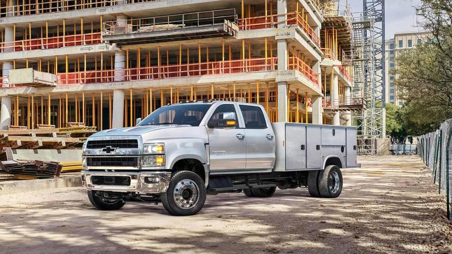 2019 Chevrolet Silverado HD Medium-Duty Trucks