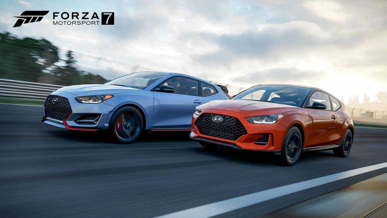 2019 hyundai veloster turbo veloster n in forza motorsport 7 photos. Black Bedroom Furniture Sets. Home Design Ideas