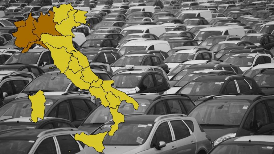 Mercato auto, la Valle d'Aosta e il Trentino trainano l'Italia