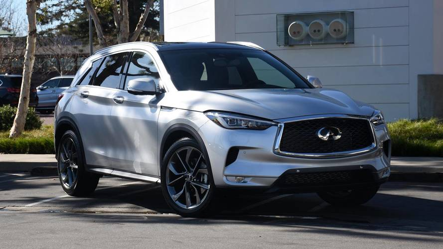 2019 infiniti qx50 first drive not your everyday suv. Black Bedroom Furniture Sets. Home Design Ideas