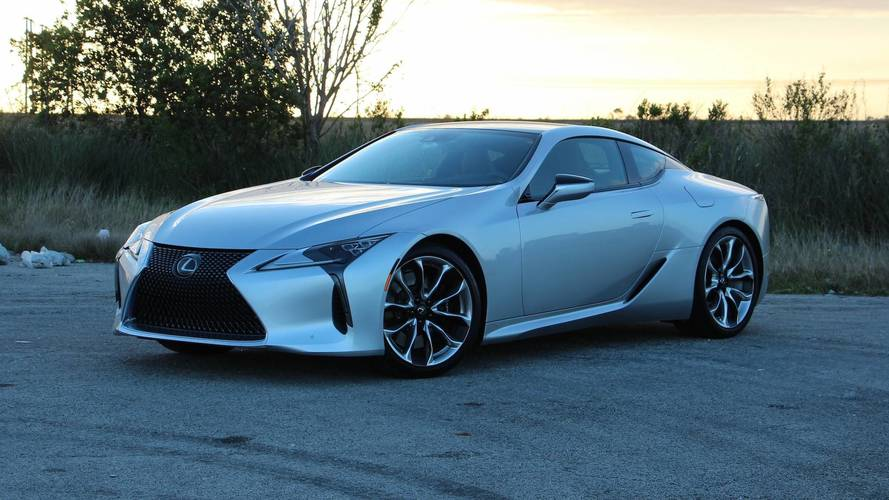 2018 Lexus LC 500 Review: Show Stopper, Grocery Shopper