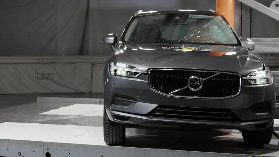 Volvo XC60: el coche más seguro, según EuroNCAP