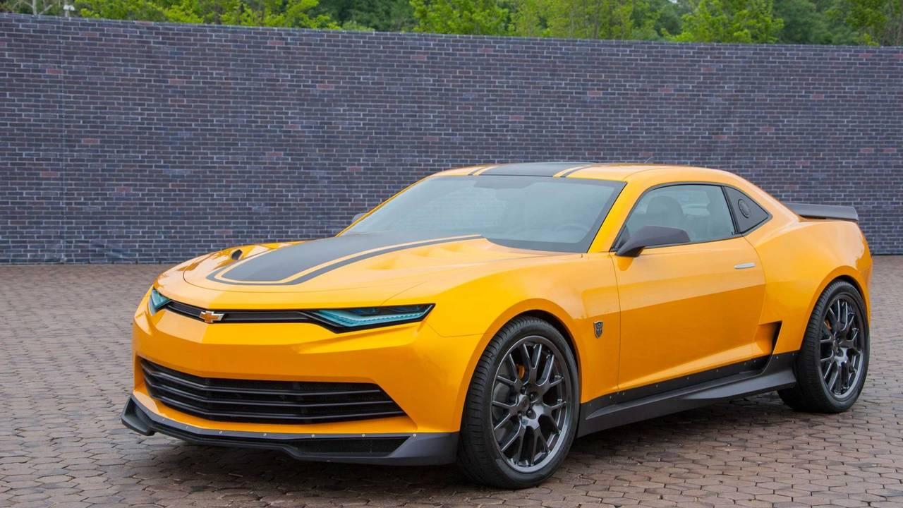 Good: Chevrolet Camaro in Transformers