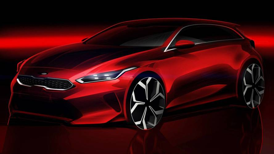 2018 Kia Ceed Looks Quite Fetching In Official Design Sketch
