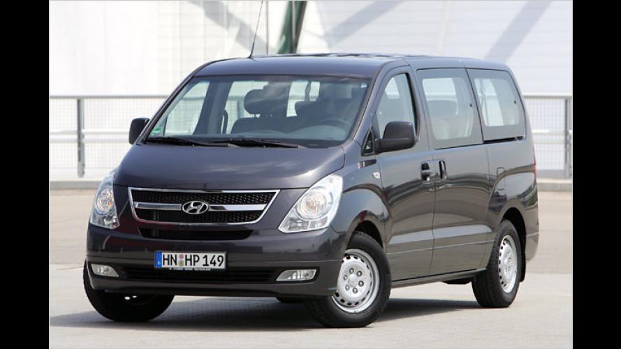 Hyundai-Kleinbus jetzt mit neuer Einstiegsmotorisierung