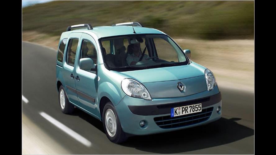 Die glückliche Familie: Renault bringt Kangoo-Sondermodell