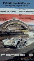 1954 Porsche 550 Spyder poster