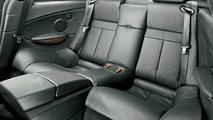BMW M6 rear seats
