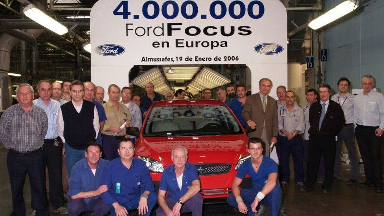 Four Millionth Ford Focus Produced in Europe