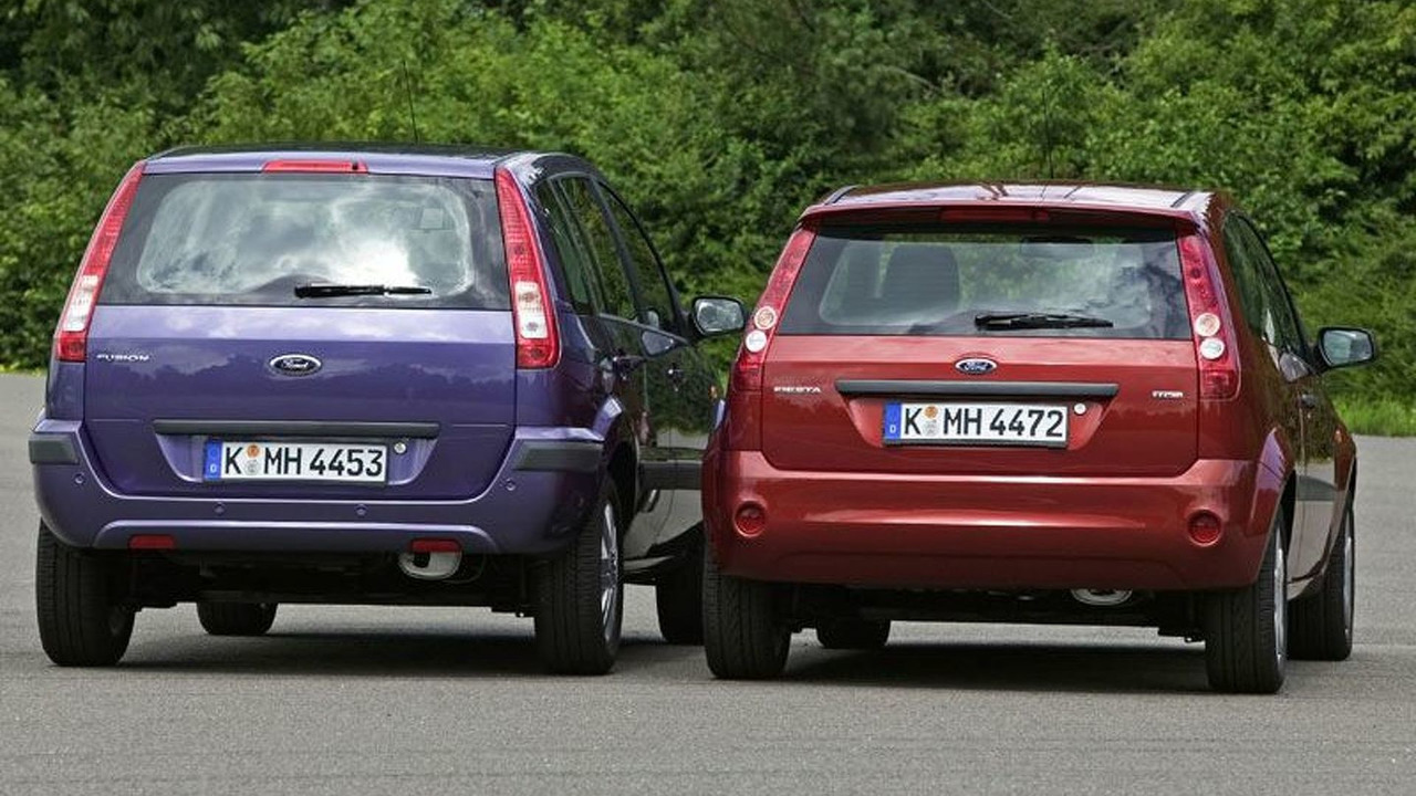 2006 Ford Fiesta and Fusion (UK)