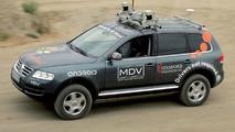 Volkswagen Touareg Prototype drives itself