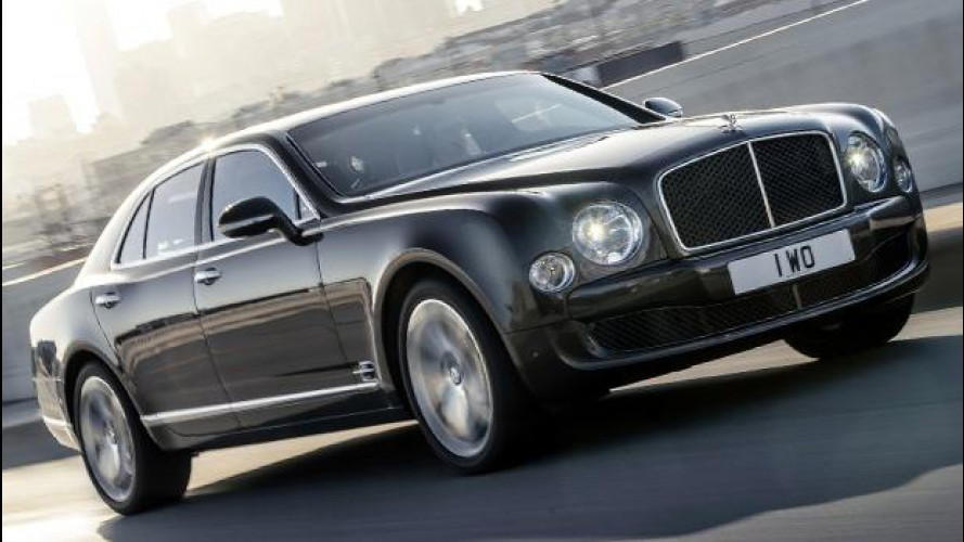 Bentley Mulsanne Speed, l'ammiraglia da 537 CV
