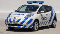 La Nissan Leaf della polizia portoghese