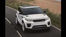 Range Rover Evoque restyling, con LED e motori più efficienti