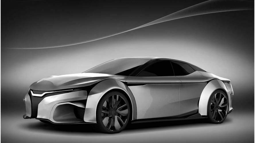 Render: el coche eléctrico, con 1.367 CV, que superará al Tesla Model S