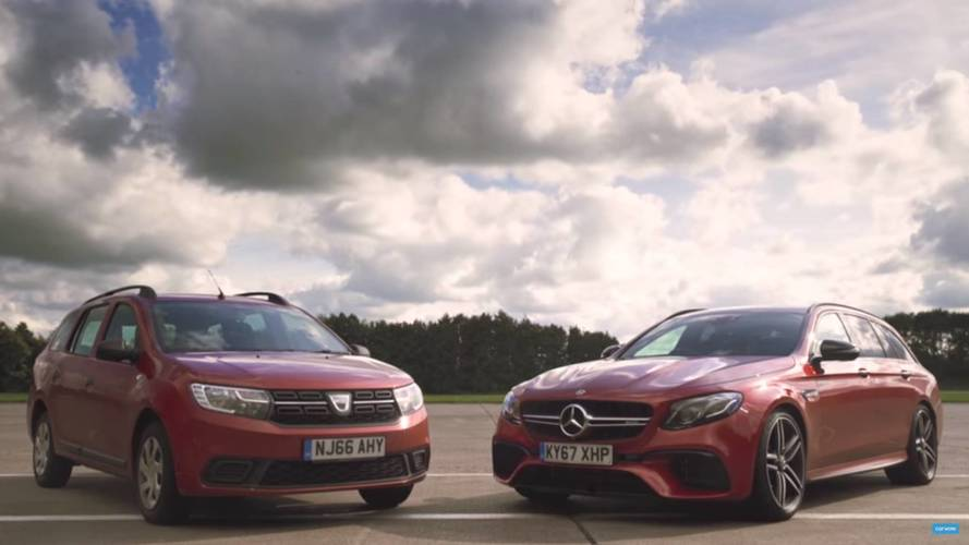 Mercedes-AMG E63 S Duels Dacia Logan In Unusual Wagon Comparison