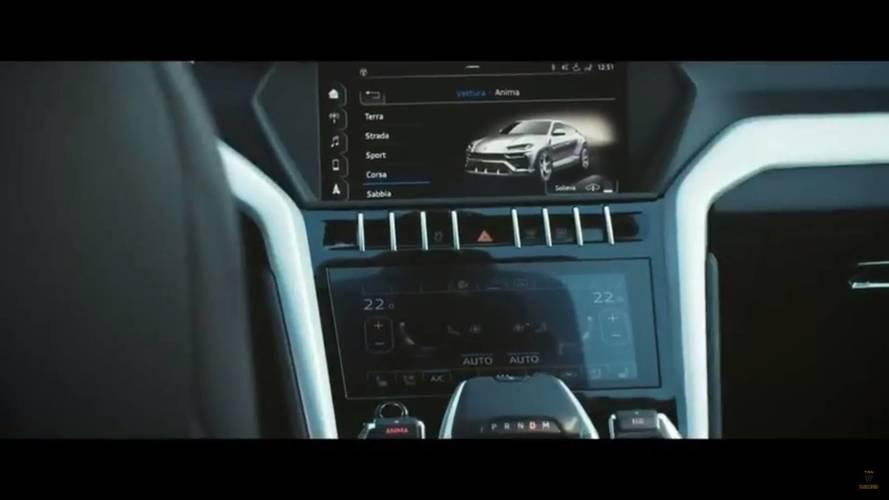 Lamborghini Urus picture leaks onto internet