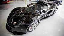 First Hennessey Venom GT Spyder goes to rocker Steven Tyler