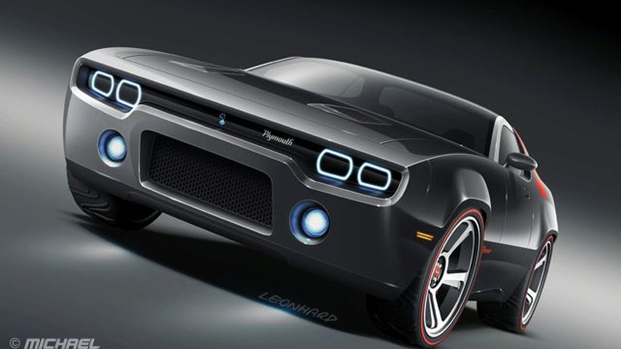 Rendered Speculation: Plymouth Road Runner Concept