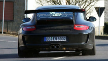 Porsche 911 GT3 RS facelift spy photo